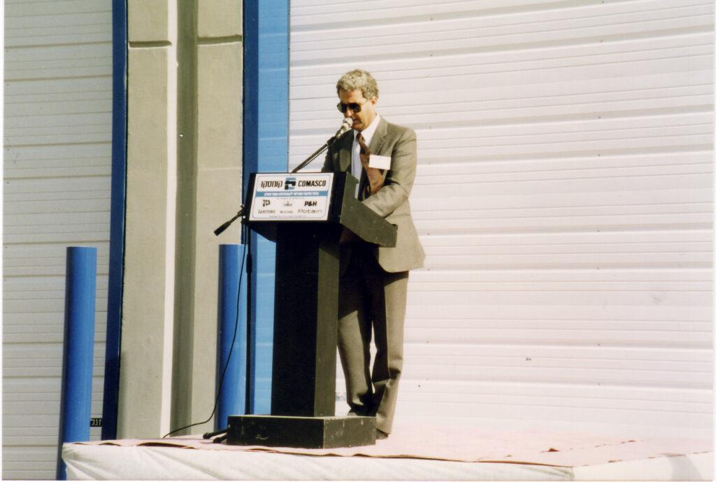 Opening the new garage in Petah-Tikva